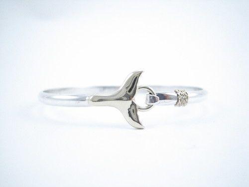 Cape Cod Whale Tail Bracelet                                                                                                                                                      More
