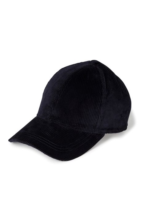 Weekday Cord Cap in Blue Reddish Dark