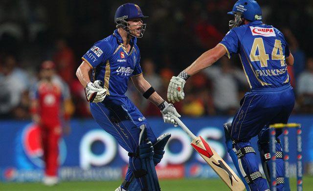 IPL 7: Steve Smith, James Faulkner Spoil Party for Royal Challengers Bangalore, Yuvraj Singh
