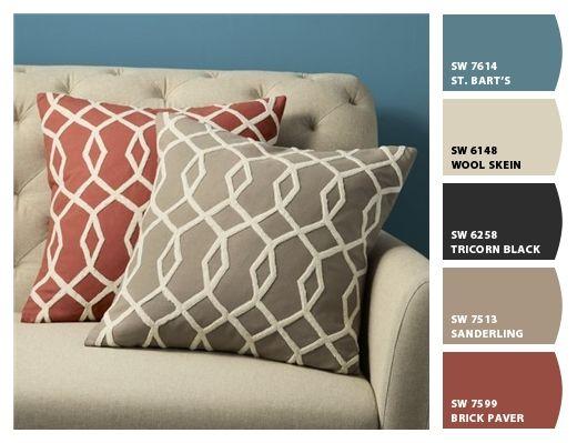 50-colores-fabulosos-pintar-las-paredes-pequena-sala (34) | Curso de organizacion de hogar aprenda a ser organizado en poco tiempo