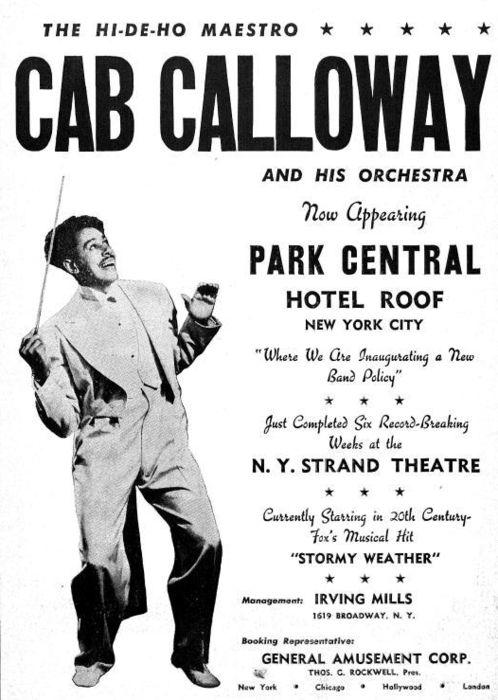 75 best CAB CALLOWAY images on Pinterest   Music, African ...