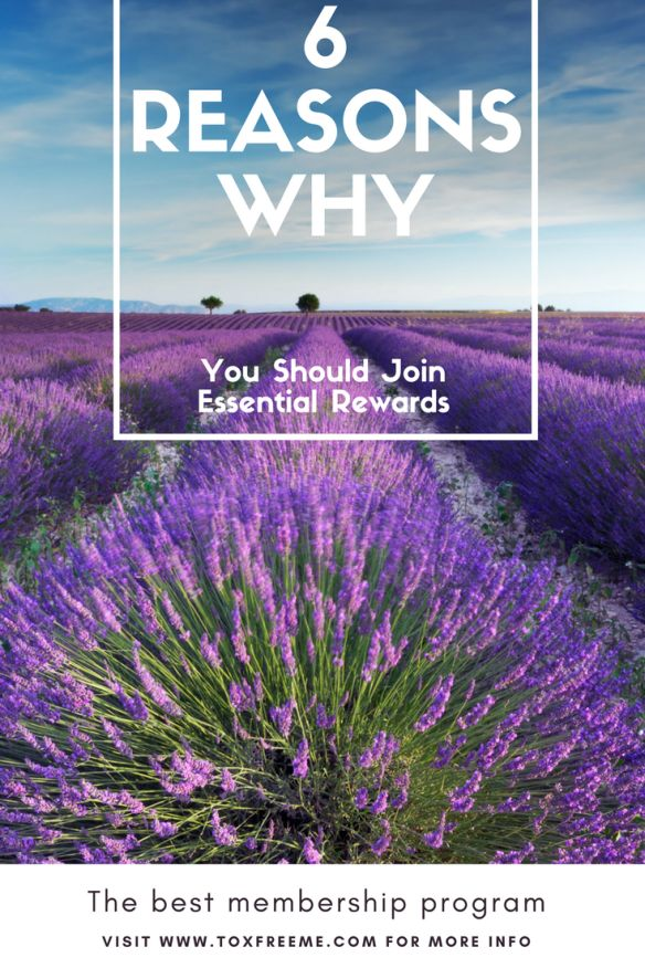 6 reasons why you should join young living's essential rewards program
