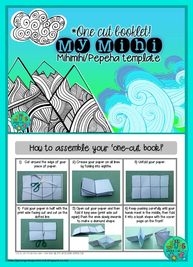 This little one cut 'Mihi/Pepeha' booklet is a great scaffold to support your students with learning their mihi!    The small size is perfe...