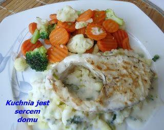 Jeśli jeść to dobrze i zdrowo, co wcale nie nie znaczy, że drogo. Koszt tego dania na jedną osobę wynosi około 6 zł PLN. Świeża rybka z...