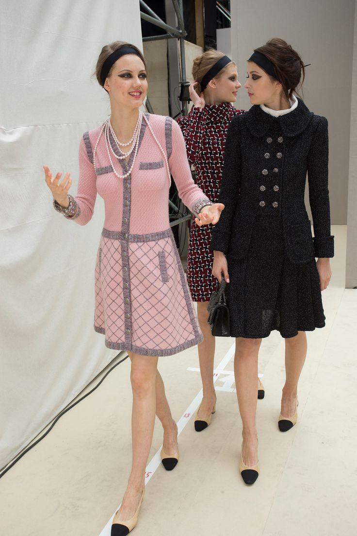 Chanel, fall 2015 *backstage.