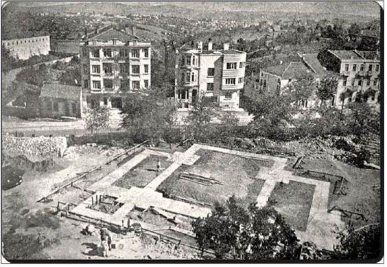 Şişili Camii Temeli-1945