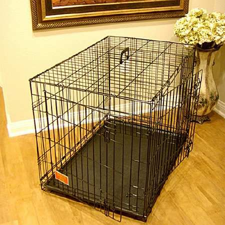 Majestic Pet Products Single Door Folding Dog Crate Cage Medium, 36 inch - 1 ea