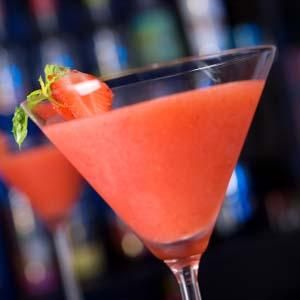 Strawberry Daiquiri -- Cheers!  I'll drink to that!