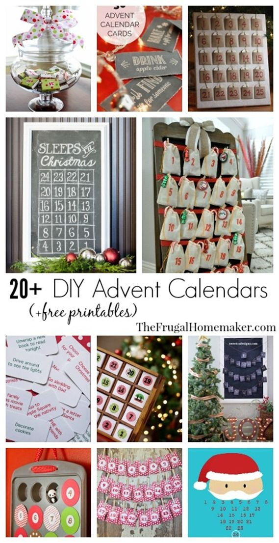 Calendar Advent Diy : Advent calendar ideas ho merry christmas