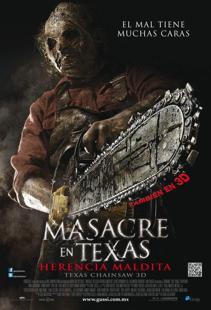 """A los amantes de los films de terror ya está en #Cartelera """"La Masacre en Texas 3D"""" @CinesUnidos"""