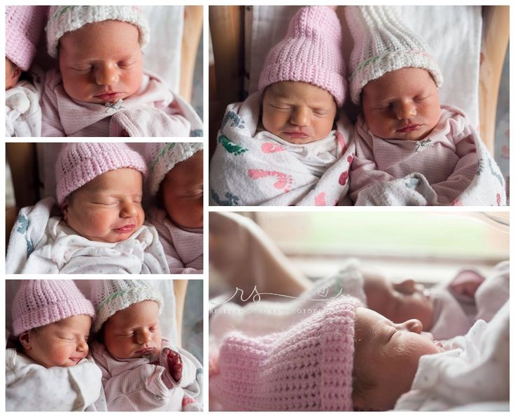 Newborn twins fresh 48 hospital newborn photography newborn photographer