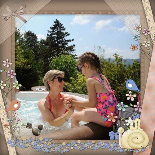 Un paradiso anche per i più piccoli #Softub! Trascorrere momenti in compagnia o con i propri bimbi, luogo di divertimento oltre che di relax!