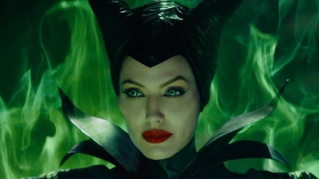Jolie as the wicked Maleficent!