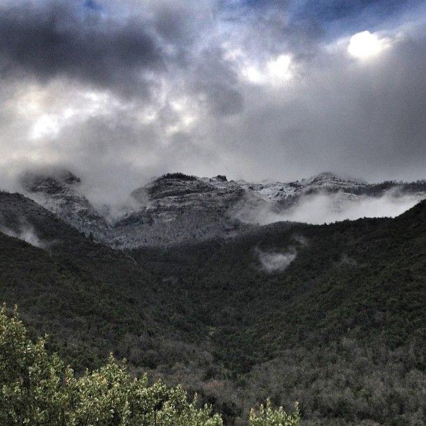 En la linda cordillera en Los Queñes #chile