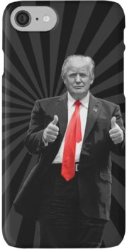 Donald Trump For President 2016 Thumbs Up iPhone 7 Cases