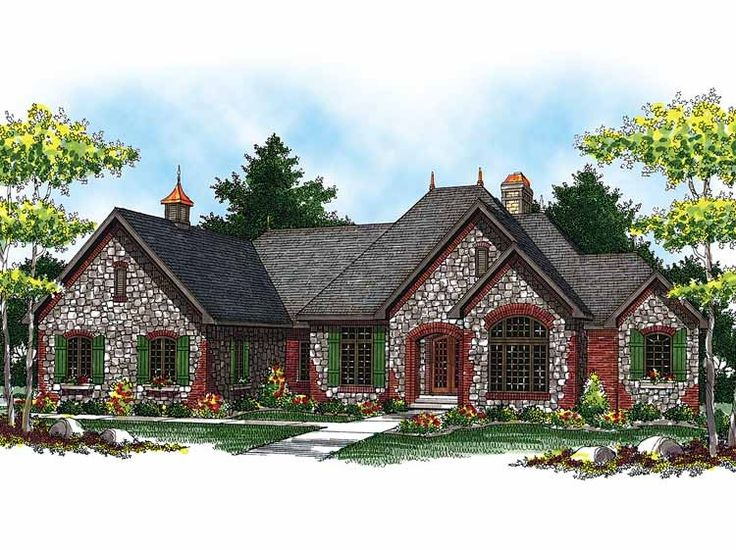 17 best images about floor plan ideas on pinterest house for French country ranch home designs