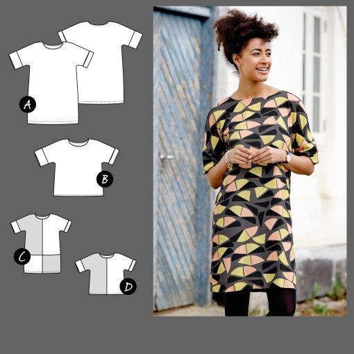 Dress and top - Stoff & Stil