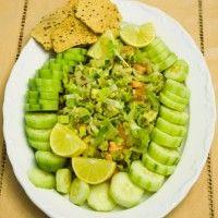 Guacamole Salad - Daniel Fast
