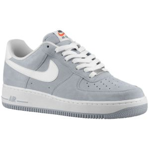 Nike Air Force 1 Low - Men's - Wolf Grey/White
