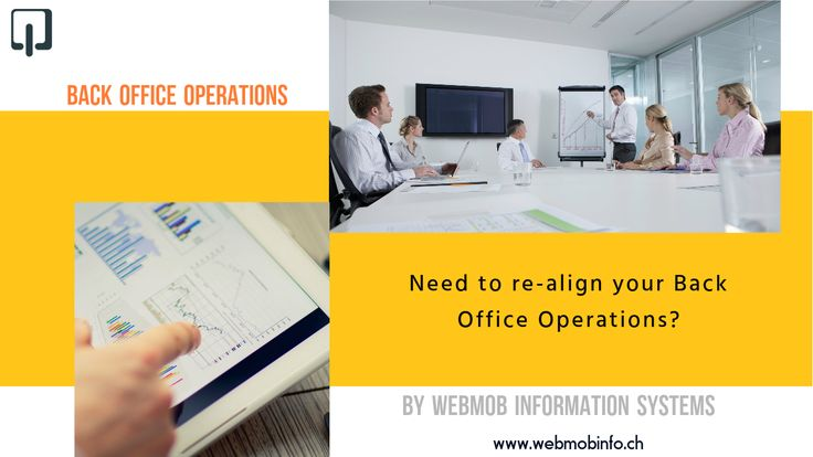 If you are spending too much time and effort on managing your daily operations, you need to re-align your Back Office Operations. http://bit.ly/2ayRgMK