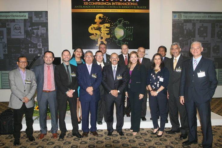 Conferencia internacional en Caracas