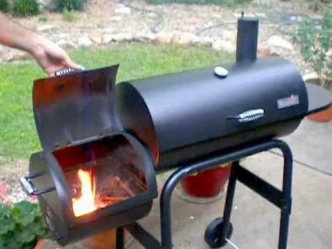 Using a Wood Offset Smoker - Instructional Video - YouTube