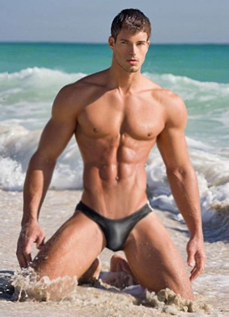 Cute And Super Sexy Guy In The Beach  Water, Sand And -3183