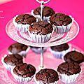 Muffins tout chocolat comme à mc do