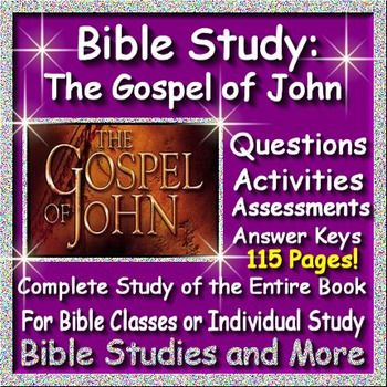 Small Group Study Guide From the Gospel of John