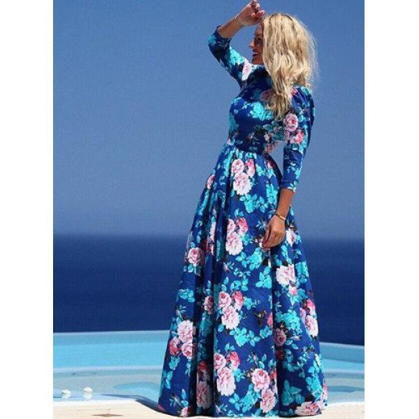 Inexpensive fall maxi dresses for women