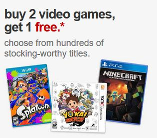 Target - All video games Buy 2 Get 1 FREE! Free shipping! - http://www.pinchingyourpennies.com/target-all-video-games-buy-2-get-1-free-free-shipping/ #Target, #Videogames