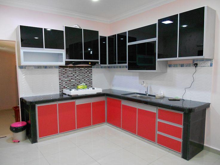Pin by Yazid Jembi on Kabinet  Dapur  Hitam Merah