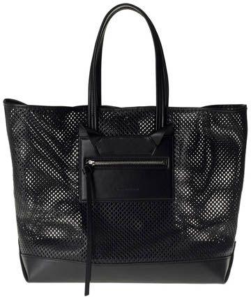 La borsa Tilda in pelle traforata di Elena Ghisellini - #borse #bags #fashion #modadonna #moda