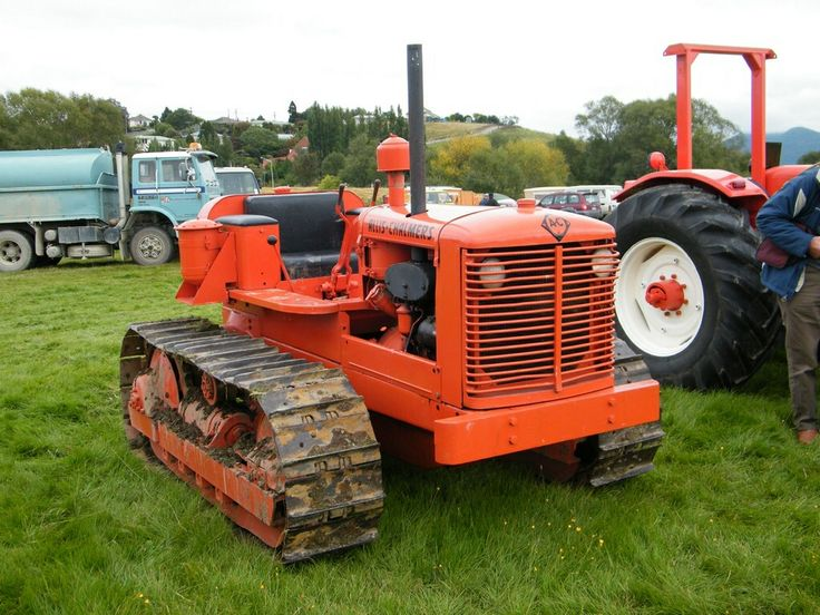 Old Antique Jd Crawlers : Best images about allis chalmers crawlers bulldozers on