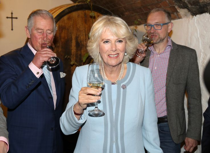 Camilla Parker Bowles Photos Photos - Prince Charles, Prince of Wales and Camilla, Duchess of Cornwall visit the Weinbau Buscheschank Obermann vineyard on April 6, 2017 in Vienna, Austria. Their Royal Highnesses will tour the vineyard, wine cellar and the old wine press, and will view a selection of historical documents and an art exhibition. - The Prince Of Wales And Duchess Of Cornwall Visit Austria - Day 2