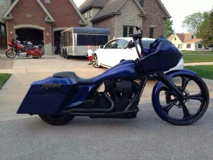 Harley Davidson Road Glide Custom My Man Pinterest