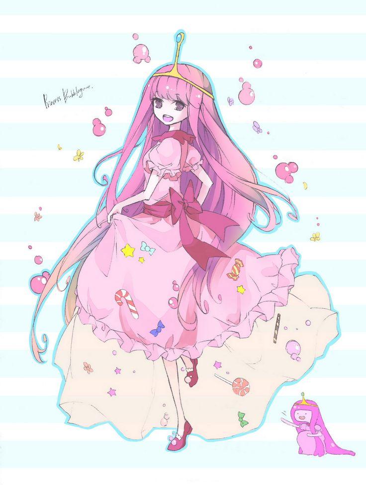 Princess Bubblegum | Adventure Time Characters | Adventure ...  Princess Bubble...