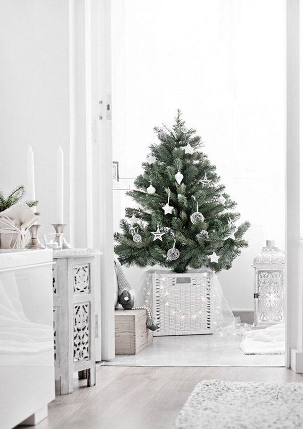 Como Decorar La Base Del Arbol De Navidad Ideas Originales Base De Arbol De Navidad Decoracion De Navidad Moderna Ideas Para Arboles De Navidad
