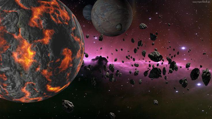Kosmos, Planety, Meteoryty