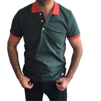 Erkek polo yaka kısa kollu yeşil tişört modellerini en ucuz fiyatlarıyla kapıda ödeme ve taksit ile Outlet Çarşım'dan satın al.