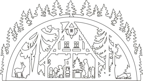 Template Schwibbogen Waldhaus
