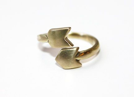 Arrow Wrap Ring by TinyArmour on Etsy: Paper Plane, Arrows Wraps, Brass Rings, Wraps Brass, Armour Rings, Tiny Armour, Tinyarmour Jewelry, Armours, Wraps Rings