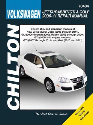 Cool Great Chilton 70404 Repair Manual 2006 - 2011 Volkswagen Jetta/Rabbit/GTI/Golf 2017-18