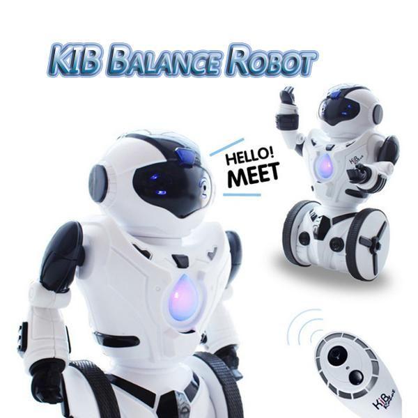 JXD KiB Intelligent Balance RC Robot Wheelbarrow Dancing Toy Gift