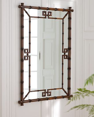 Classic, classic, classic. A Chinese Chippendale mirror can be used in the most traditional or electic of homes.