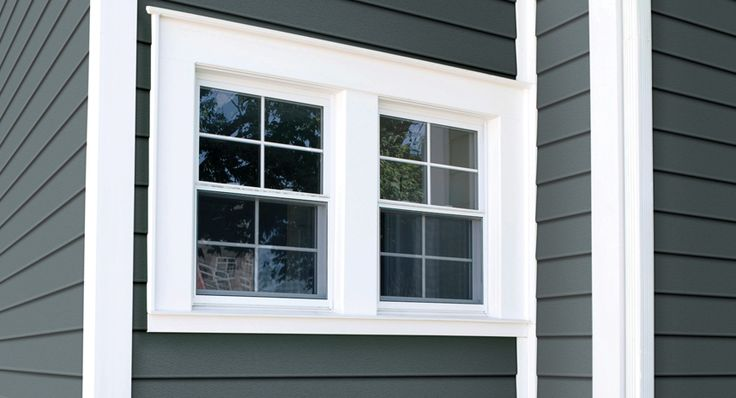 How to choose exterior trim royal building products raised ranch pinterest exterior trim for Installing exterior window trim on siding