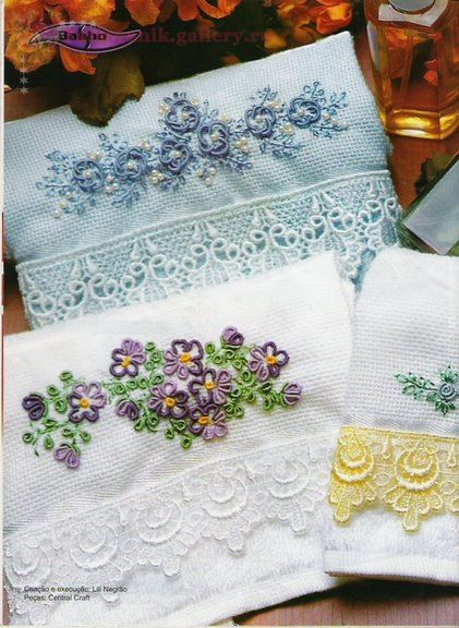 Brazilian Embroidery - this site has entire copies of books on this subject. A must see for Brazilian enthusiasts!