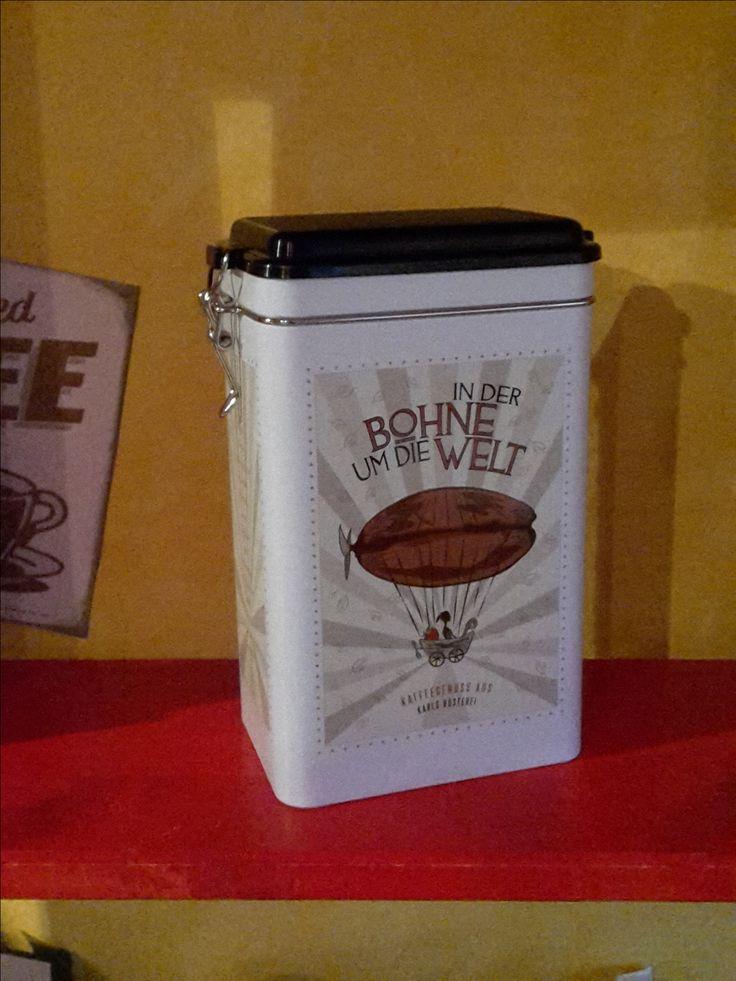 Tolle #kaffeedose #geschenk von der #ostsee #karlsrösterei #kaffee