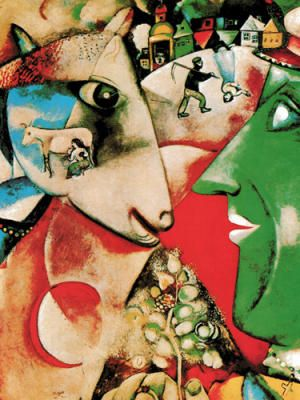 I and the Village - Marc Chagall