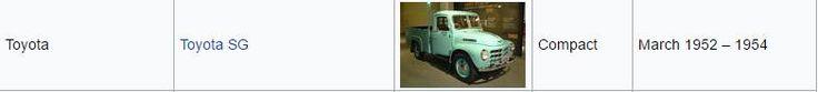 Toyota SG 1952-1954